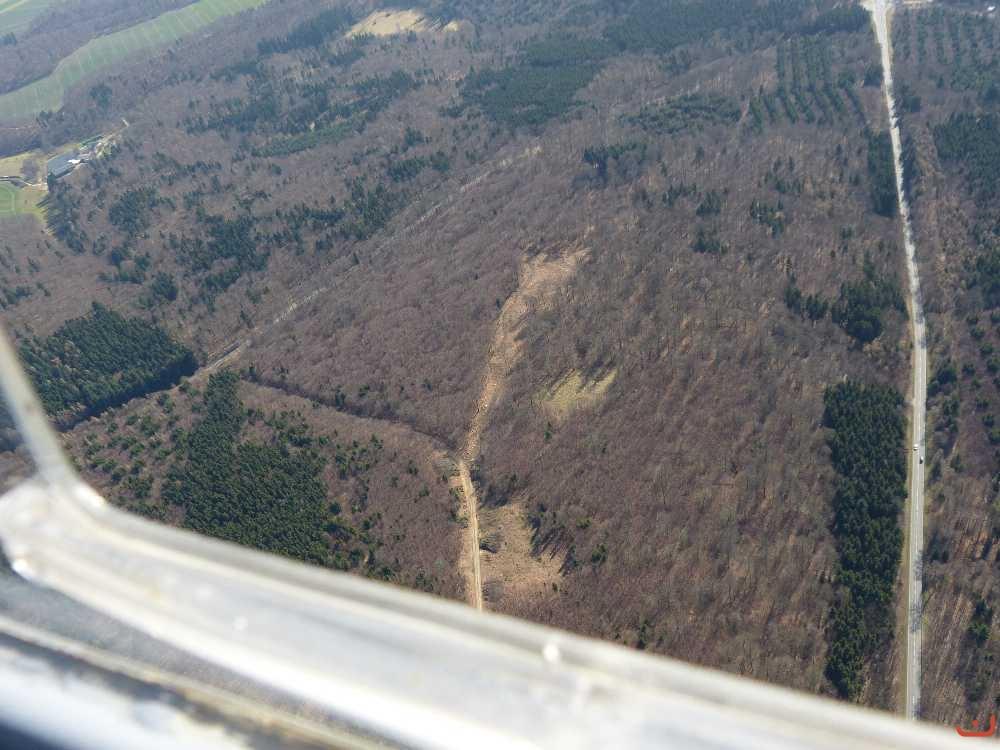 Bilder - Kategorie: Luftbilder - Bild: rechts Bäderstrasse B260 ...