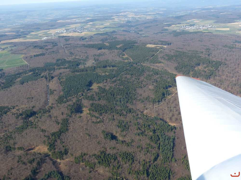 Bilder - Kategorie: Luftbilder - Bild: links oben: Holzhausen a.d.H ...