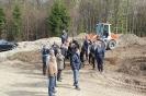 Baustellenbesichtigung mit unseren Partnern
