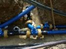 Wasserleitungsverlegearbeiten