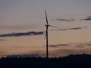 Letzte Windkraftanlage