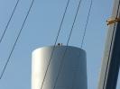 Montage auf dem Turm