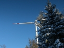 Winter im Windpark